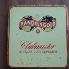 Tabachera / Cutie metalica pentru tigari - HANDELSGOLD - Clubmaster