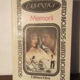 MEMORII -CASANOVA - Biografie