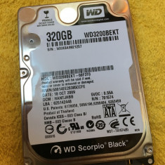 HDD laptop - Hard disc Western Digital 320GB SATA2 ( WD3200BEKT ), 300-499 GB, Rotatii: 7200, 16 MB