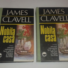 JAMES CLAVELL - NOBILA CASA Vol.1.2. - Carte de aventura