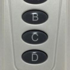 Telecomanda Pentru Automatizari - 4 Canale/1713 - Telecomanda alarma