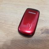 Samsung E1150i - 69 lei - Telefon Samsung, Rosu, Nu se aplica, Neblocat, Single SIM, Fara procesor