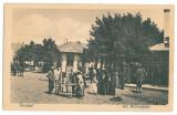 1106 - Vrancea, FOCSANI, Market - old postcard - unused, Necirculata, Printata