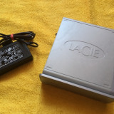 HDD Hard disc extern Lacie 500GB ( Usb , Firewire 400 , Firewire 800 , eSata )