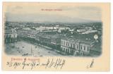 3813 - Litho, Maramures, SIGHET, Market - old postcard - used - 1901, Circulata, Printata