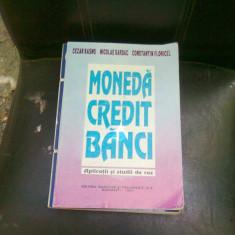 MONEDA CREDIT BANCI - CEZAR BASNO - Carte despre fiscalitate