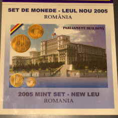 Set de monetarie 2005 Leul nou - Moneda Romania