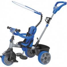 Tricicleta 4 in 1 - Albastru - Tricicleta copii Little Tikes