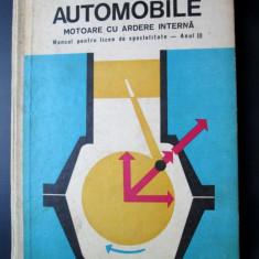 Carte tehnica Auto, 1973: Automobile / Motoare cu ardere interna - Carti auto