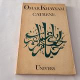 Omar Khayyam - Catrene, R2 - Carte poezie