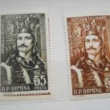 1957 LP 427 500 DE ANI DE LA URCAREA PE TRON A LUI STEFAN CEL MARE - Timbre Romania, Nestampilat