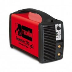 Aparat de sudura Telwin SUPERIOR 245 Invertor 400V Rosu