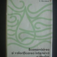 C. PARVULESCU - ECONOMISIREA SI VALORIFICAREA INTENSIVA A APELOR