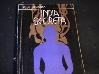 INDIA SECRETA-PAUL BRUNTON-252 PG- foto