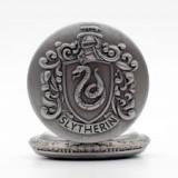 Ceas De Buzunar Retro / Vintage Style - HARRY POTTER - SLYTHERIN Argintiu