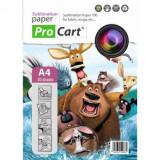 Consumabil Procart Top 50 coli hartie pentru sublimare A4 100g - Cartus imprimanta