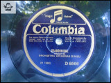 Orchestra Grigoras Dinicu, disc patefon gramofon Columbia v foto!, Alte tipuri suport muzica