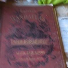 Carte Veche Vechi atlas Grosser Handatlas der Naturgeschicate 1885