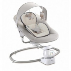 Leagan electric bebe Baby Mix UR Beige - Balansoar interior