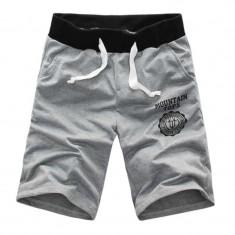 Pantaloni scurti din bumbac, foarte comozi - Bermude barbati, Marime: L, Culoare: Gri