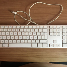 Tastatura Apple Keyboard with Numeric Keypad Aluminium A1243 franceza