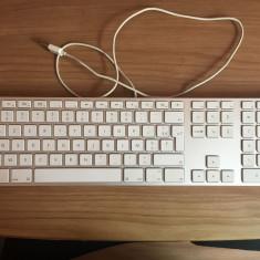 Tastatura Apple Keyboard with Numeric Keypad Aluminium A1243 franceza