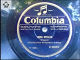 Grigoras Dinicu solo de vioara  disc patefon gramofon Columbia v foto!, Alte tipuri suport muzica