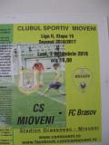 CS Mioveni-FC Brasov( 7 noiembrie 2016)
