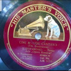 G Stefanovici disc patefon gramofon v foto! - Muzica Clasica, Alte tipuri suport muzica