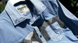 DESIGUAL camasa barbati nr.S-M originala, S/M, Maneca lunga, Albastru