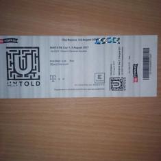 Bilet UNTOLD 2017 - Prima zi de festival 3 August - Bilet concert