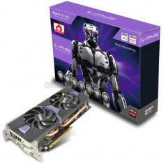 Placa video SAPPHIRE AMD 11242-12-20G, NITRO R9 380, PCIE, 2048MB GDDR5 256bit, 5800MHz, 1010Mhz, 2*DVI, 1*HDMI, 1*DP, Fan, Black Plate bulk