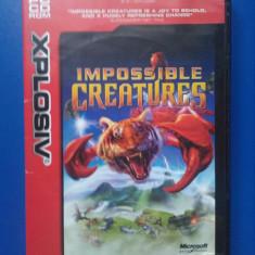 Impossible Creatures (PC) - Jocuri PC Microsoft Game Studios, Strategie, 12+, Multiplayer