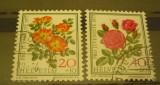 ELVETIA 1977 - TRANDAFIRI, timbre stampilate VL15