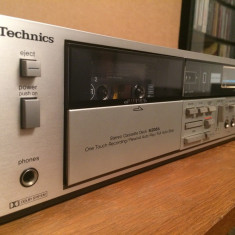 TECHNICS model M206  Stereo Cassette Deck  - Stare Perfecta/Made in Japan