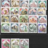 Italia 1980 serie deparaiata - Timbre straine, Stampilat