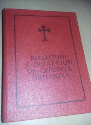 Rugaciuni si invataturi de credinta ortodoxa,1984,preasfintitul ANTIM,tp GRATUIT foto