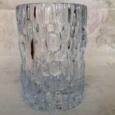 Vaza masiva cristal Suedia, 1950
