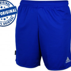Pantalon Adidas Parma 2 pentru barbati - pantaloni originali - Pantaloni barbati Adidas, Marime: M, XL, Culoare: Albastru, Scurti, Poliester