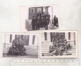 bnk foto - Lot 3 fotografii elevi ai Liceului Militar iasi  - 1940