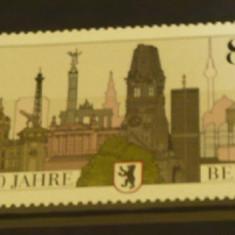 GERMANIA 1987 – ANIVERSARE BERLIN, serie nestampilata VL14 - Timbre straine
