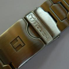 Bratara originala de TISSOT T-TOUCH otel / bratara ceas - Curea ceas din metal