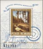 1975 – Cetatea Gradistea - col. dantelata, Arheologie, Nestampilat