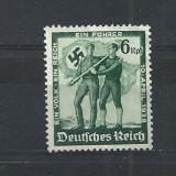 GERMANIA (REICH) 1938 – ANEXAREA AUSTRIEI, timbru nestampilat FARA GUMA VL14