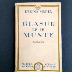 GLASUL DE PE MUNTE Regina Maria - Carte veche