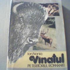 Ion Nania - VANATUL PE TERITORIUL ROMANIEI { 1991 }