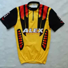 Tricou ciclism Alex Athletics; marime 164 cm inaltime, vezi dimensiuni exacte - Echipament Ciclism