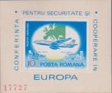 1977 – C.S.C.E. – col. nedantelata, Organizatii internationale, Nestampilat