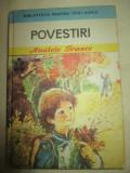 Povestiri- Anatole France, Anatole France