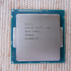 Procesor Intel Haswell Refresh, Core i3 4170 3.7GHz. - Procesor PC Intel, Intel Core i3, Numar nuclee: 2, Peste 3.0 GHz, LGA 1150